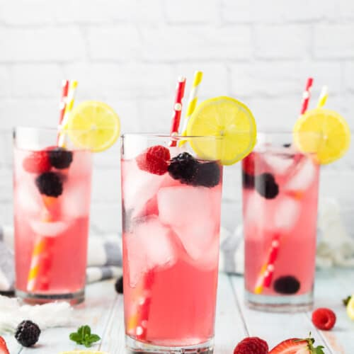 Sparkling Berry Lemonade recipe
