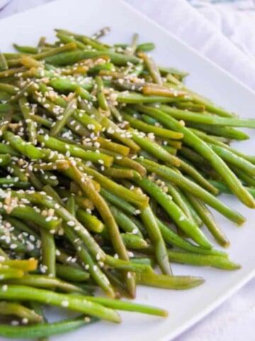 Garlic Asian Green Beans