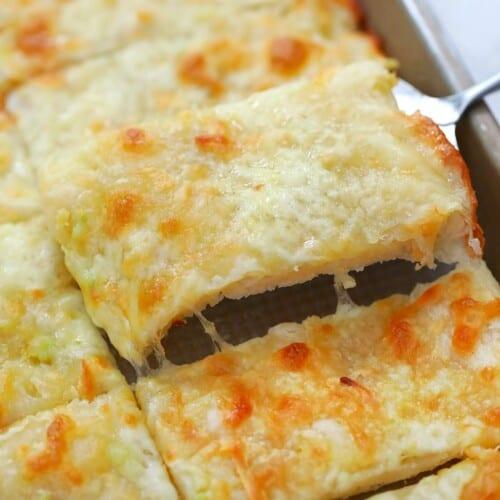 Garlic Flat Breadsticks