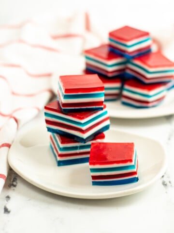 jello on a plate