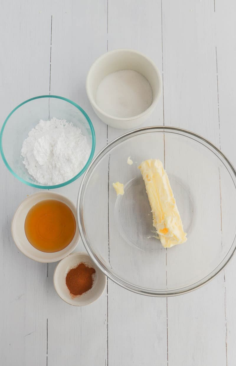 ingredients for honey butter